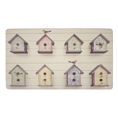 Birdhouse Kitchen Mat