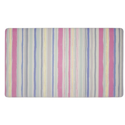 Lollies Washed Stripe Kitchen Mat