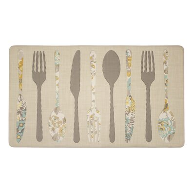 Hereford Silverware Kitchen Mat