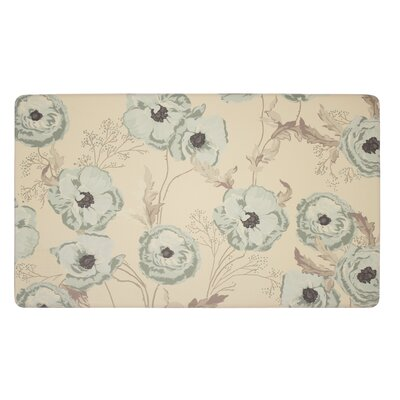 Poppy Meadow Kitchen Mat
