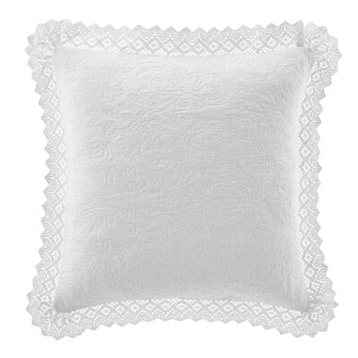 Solid Throw Pillow Color: White