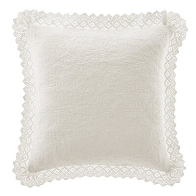 Solid Throw Pillow Color: Ivory