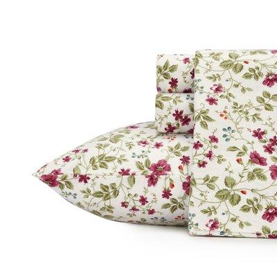 Spring Bloom Cotton Sheet Set Size: Twin