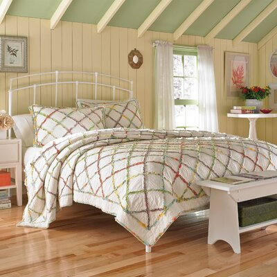 Ruffled Garden 5 Piece Duvet Cover Set by Laura Ashley Home