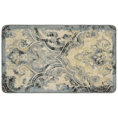 Taupe/Ivory Area Rug Rug Size: 18 x 28