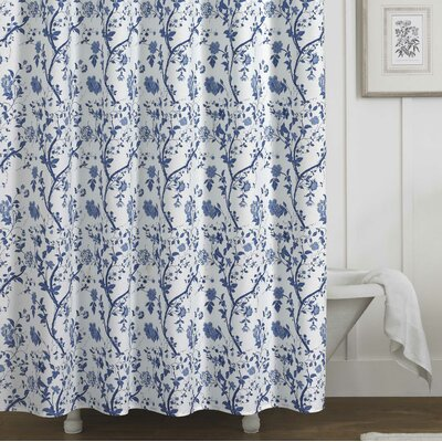 Charlotte 100% Cotton Shower Curtain