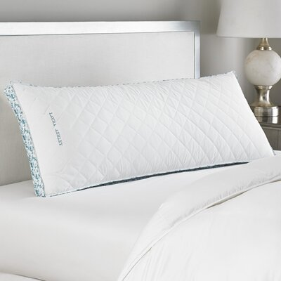 Ava Polyfill Body Pillow Color/Firmness: Blue/Firm