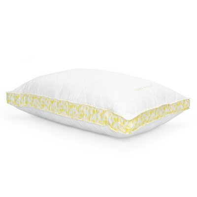 Ava Polyfill Pillow Color/Firmness: Yellow/Medium, Size: Queen