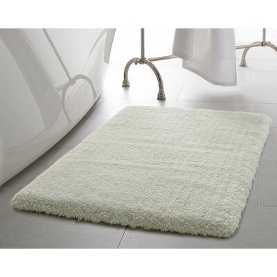 Pearl Plush Bath Mat Size: 17 x 24, Color: Cream Puff