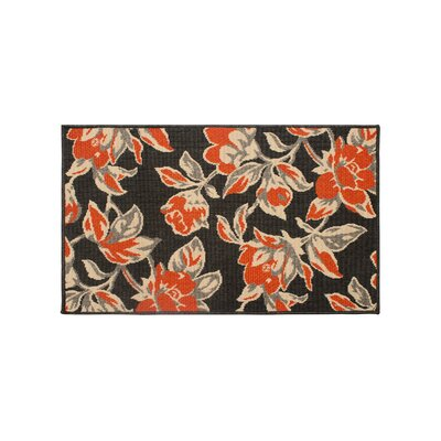 Jaya Carlisle Orange Indoor/Outdoor Area Rug Rug Size: 2 x 3