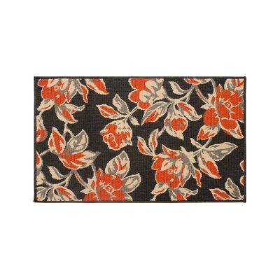 Jaya Carlisle Orange Indoor/Outdoor Area Rug Rug Size: 23 x 39