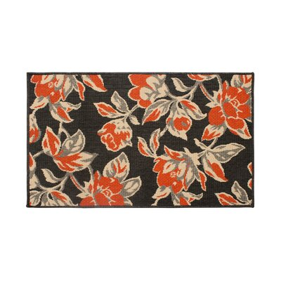 Jaya Carlisle Orange Indoor/Outdoor Area Rug Rug Size: 4 x 6