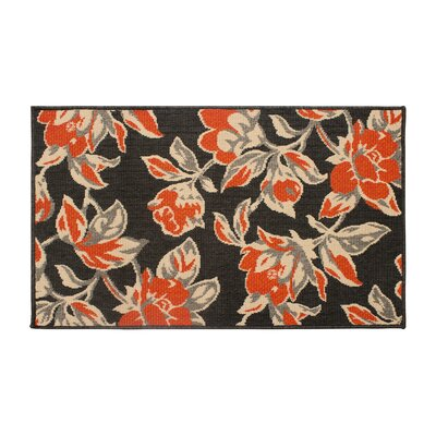 Jaya Carlisle Orange Indoor/Outdoor Area Rug Rug Size: 5 x 8