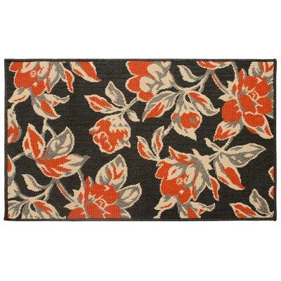 Jaya Carlisle Orange Indoor/Outdoor Area Rug Rug Size: 8 x 11