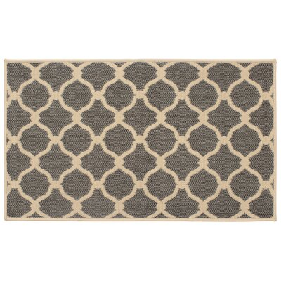 Jaya Arietta Gray Indoor/Outdoor Area Rug Rug Size: 8 x 11