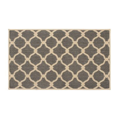 Jaya Arietta Gray Indoor/Outdoor Area Rug Rug Size: 5 x 8