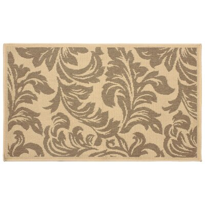 Jaya Devon Taupe/Beige Indoor/Outdoor Area Rug Rug Size: 8' x 11'