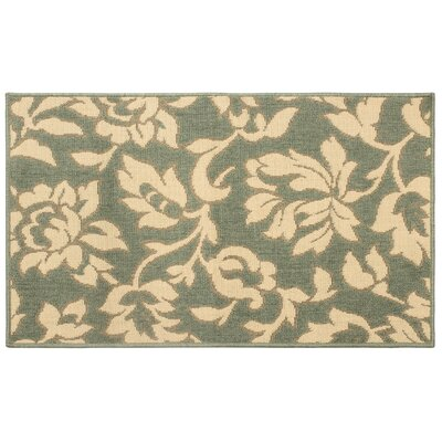 Jaya Bennet Green/Beige Indoor/Outdoor Area Rug Rug Size: 8 x 11