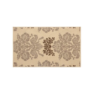 Jaya Tatton Taupe/Beige Indoor/Outdoor Area Rug Rug Size: 2 x 3