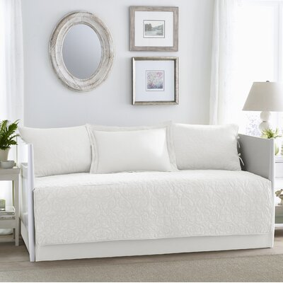 Felicity White 5 Piece Daybed Set