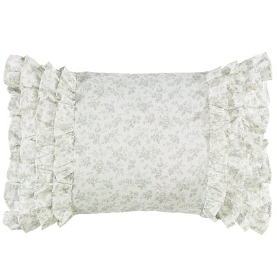Harper 100% Cotton Breakfast Lumbar Pillow