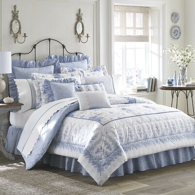 Sophia Bedding Comforter Set Size: King