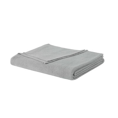 Blanket Size: Full/Queen, Color: Gray