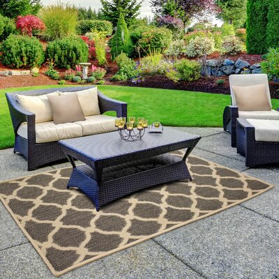 Jaya Arietta Gray Indoor/Outdoor Area Rug Rug Size: 2 x 3