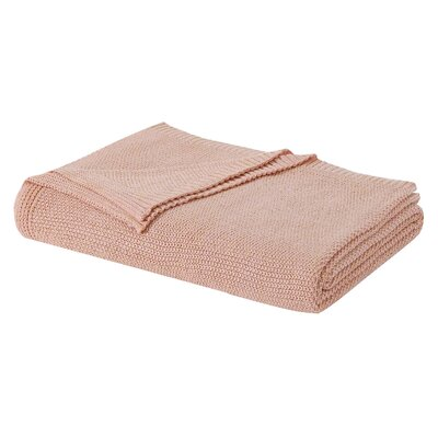 Blanket Size: Full/Queen, Color: Peach