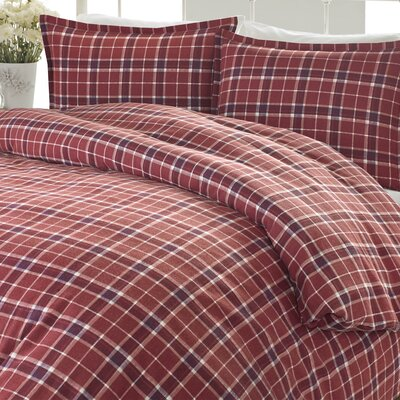 Highland Check Comforter Set Size: Full/Queen
