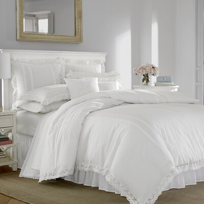 Annabella 100% Cotton Duvet Set Size: Full/Queen