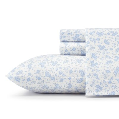 Helena Flannel Sheet Set Size: Queen
