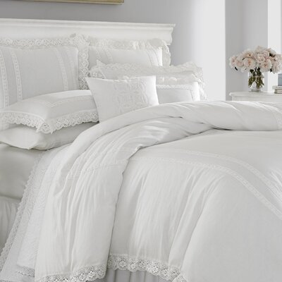 Laura Ashley Home Annabella 100 percent 2 Piece Euro Sham Set by Laura Ashley Home