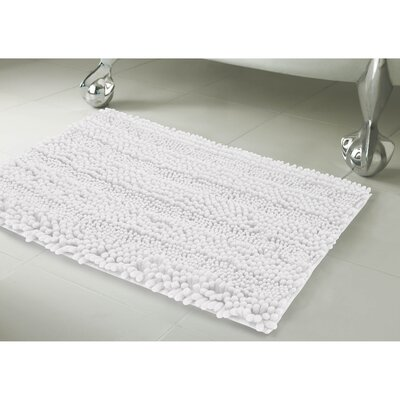 Astor 2 Piece Bath Rug Set Color: White
