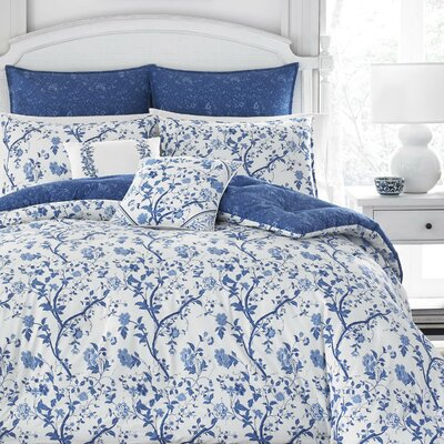 Elise 100% Cotton Comforter Set by Laura Ashley Home Size: King
