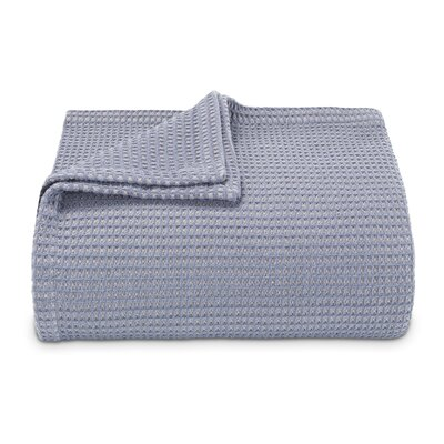 Waffleweave 100% Cotton Blanket Size: Twin