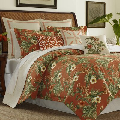 Rio De Janeiro Comforter Set by Tommy Bahama Bedding Size: King