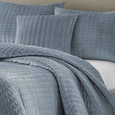 Bleigh Throw Pillow Color: Blue