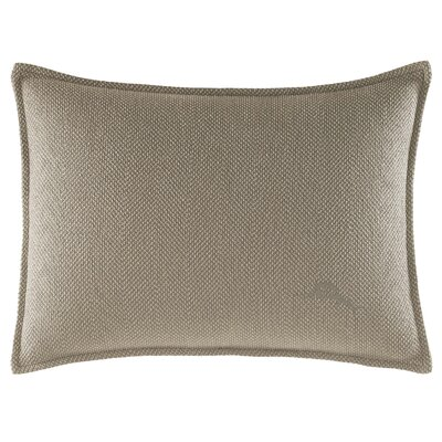 Raffia Palms Herringbone Weave Lumbar Pillow by Tommy Bahama Bedding