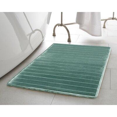 Infused Bath Rug Set Color: Teal