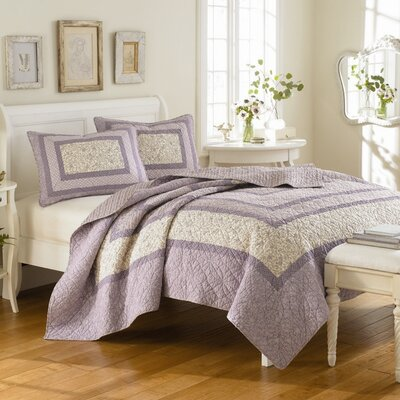 Laura Ashley Home Linley Quilt Set | Wayfair