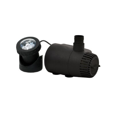 300-400 GPH Pump and Light