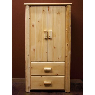 Frontier Armoire Finish: Light Honey