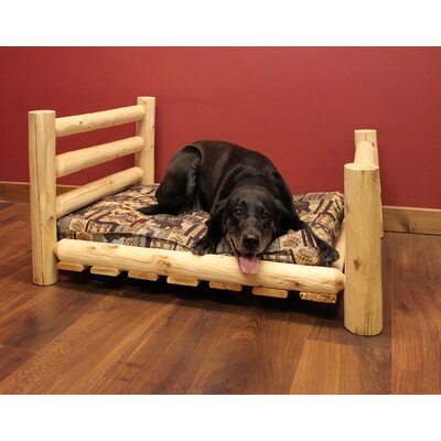 Caesar Dog Bed Size: 48 L x 34 W