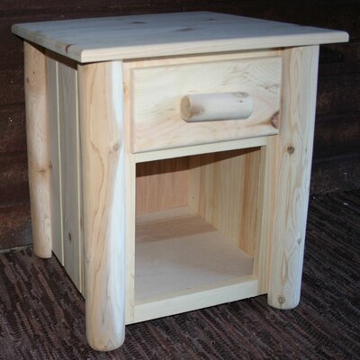Frontier 1 Drawer Nightstand Finish: Unfinished