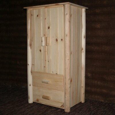 Frontier Armoire Finish: Unfinished