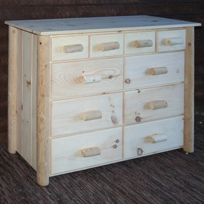 Frontier 10 Drawer Dresser Color: Unfinished