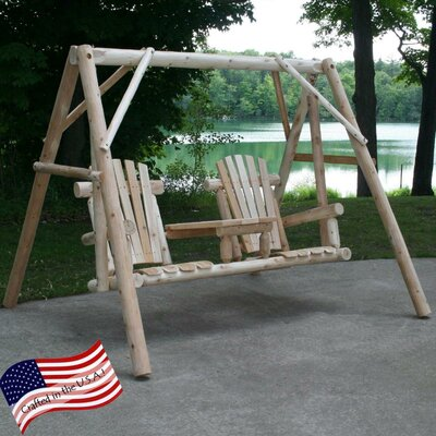 Tete-A-Tete Porch Swing with Stand