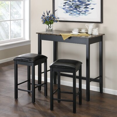 Carterton 3 Piece Dining Set