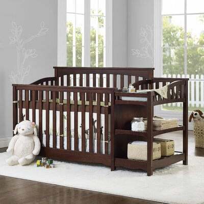 Baby Relax Bailey 2-in-1 Convertible Crib Finish: Espresso DA6788E
